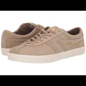 Gola Suede Trainer CLA558 Cappuccino Shoes Size 5